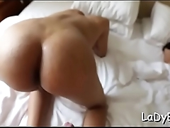 Talented tranny gets butt fucked