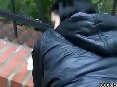 Public Pickup Teen Amateur Fucked By Horny Tourist 28