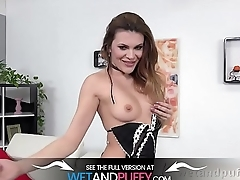Wetandpuffy - Sexy Stockings Play - Puffy Pussy Lips