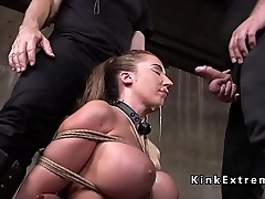Huge ass slave fucking and twerking