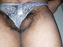 My white panty .... horny time