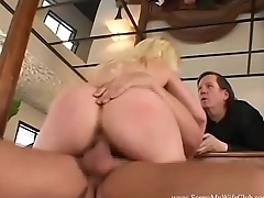 Florida Blonde Wife Fucks Male Pornstar