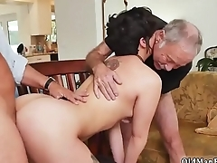 Daddy gag More 200 years of manhood for this spectacular brunette!