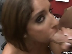 Big ass hottie riding cock in a cowgirl