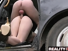 Cock Hungry Customer Gets A Free Ride - Alessa Savage