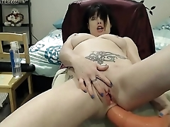 HOTDATE.CF - belly buldge with horse cock