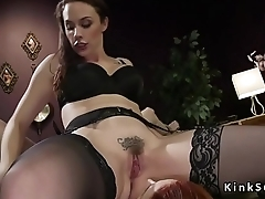 Redhead sub ass wide opened and fucked