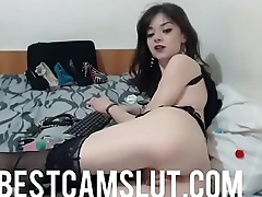 Hot anal live action on cam - bestcamslut.com
