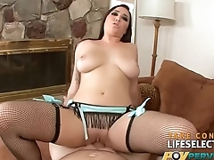 Karlee Grey - Big Boobed Brunette Loves Dick
