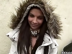 Public Sex With Euro Teen And Horny Tourist Outdoor 05