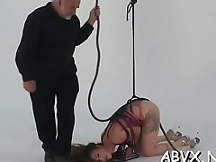 Busty mature slavery porn