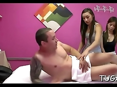 This massage saloon is very perverted