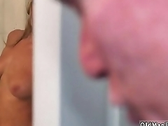 On blonde facial Molly Earns Her Keep