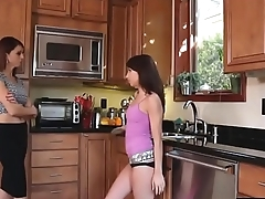 LesbianCums.com: Daughter Facesiting Step Mom Pussy