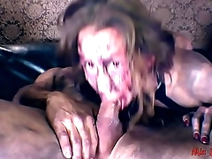MIA'_S ZOMBIE NIGHTMARE. ZOMBIE DICK ASS TO THROAT ATTACK ON HALLOWEEN