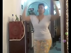 Hot desi indian bhabi shaking her sexi ass &amp_boobs on bigo live...2